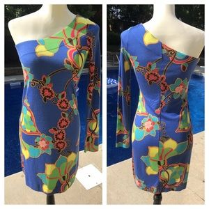 💗💗💗BEAUTIFUL LILLY PULITZER one shoulder dress